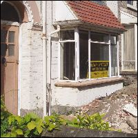 Property empty and in disrepair