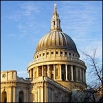 The dome of St Pauls