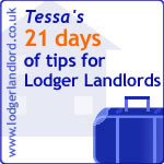 Tessa's 21 tips for Lodger Landlords