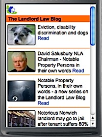 Landlord Law Blog on your phone
