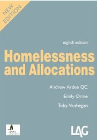 Homelessness and Allocations - A Arden QC