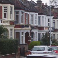 It is easier to find suitable two story properties in Plymouth than in London