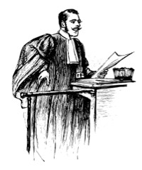 The stereotype image of a lawyer