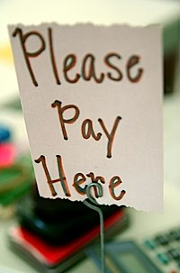 Please pay here