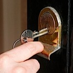 The landlord is refusing to repair a broken backdoor lock, what can the tenant do?