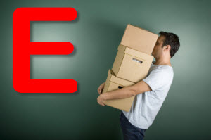 E is for eviction