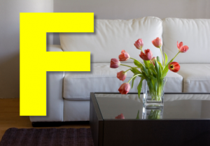 F is for Furniture