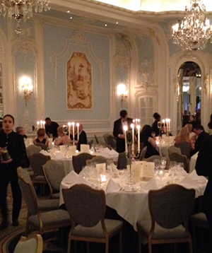 The Presidents Dinner at the Savoy