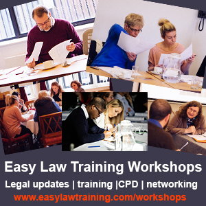Easy Law Training Workshops
