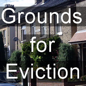 Grounds for eviction - rent arrears ground