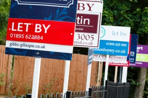 Letting agent boards