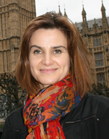Jo Cox - this is a non free image used solely to identify Jo Cox in this article. Click to find out more about this image.