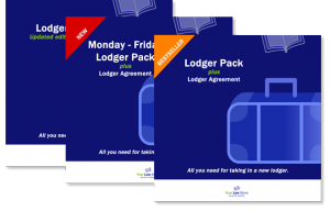 Your Law Store New Lodger packs