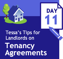 Tenancy Agreements 33 days of tips - Day 11 - the property