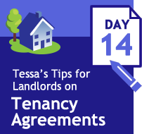 Tenancy Agreement 33 days of tips - day14 - the tenancy deposit