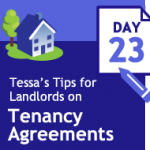 Tenancy Agreements 33 days of tips – day 23 – service of notices
