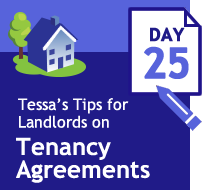 Tenancy Agreements 33 days of tips Day 25