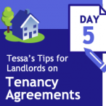 Tenancy Agreements 33 days of tips – Day 5 – shared houses