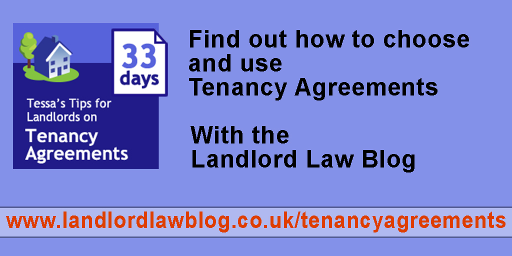 Tenancy Agreement 33 Days Of Tips Tenant Guarantees