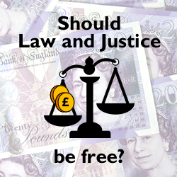 Should Law and Justice be Free?