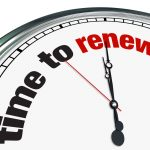 Is letting agent renewal commission payable if the tenancy continues as a periodic?