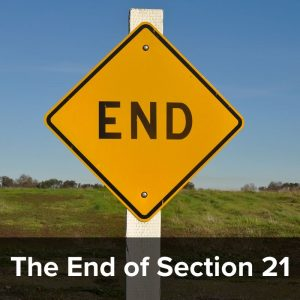 the End of Section 21